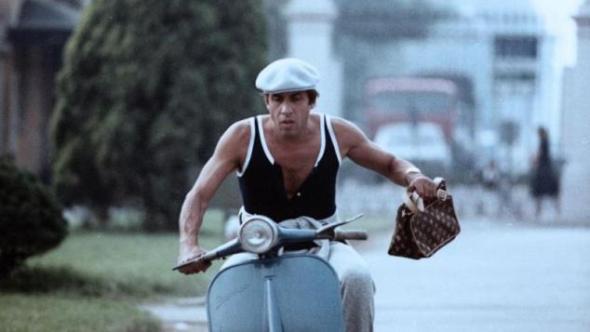 """Adriano Celentano nel film """"Mani di velluto"""""""