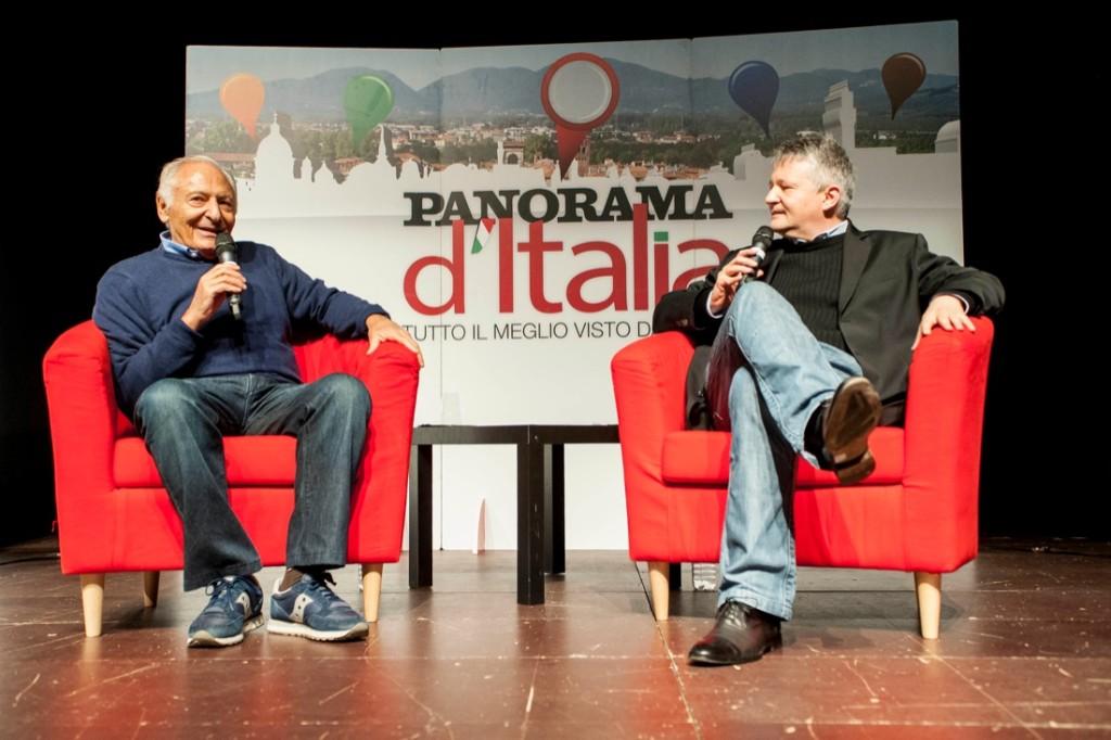 Mogol con Gianni Poglio (Credits: Silvia Morara)