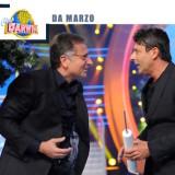 """Paolo Bonolis e Luca Laurenti nel programma televisivo """"Ciao Darwin"""""""