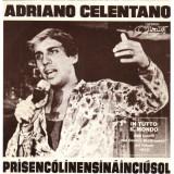 copertina del 45 giri contenenente il brano Prisencolinensinainciusol (1972) di Adriano Celentano