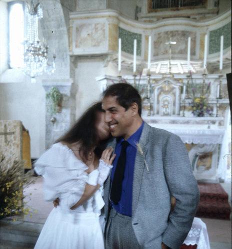 Adriano Celentano e Claudia Mori - 25° anniversario di matrimonio