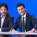 """Tommaso Labate e David Parenzo nella trasmissione televisiva """"In Onda"""" (La7)"""
