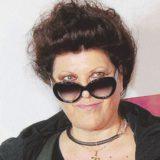 """Claudia Mori, moglie di Adriano Celentano oggi, 24 novembre 2011 a Milano, durante la presentazione alla stampa del nuovo album del molleggiato dal titolo: """"Facciamo finta che sia vero"""". MATTEO BAZZI / ANSA"""