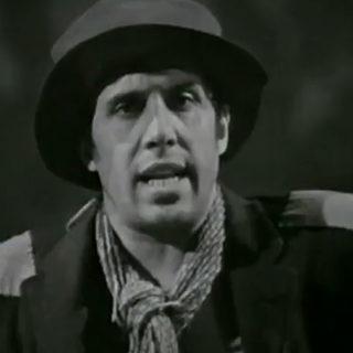 Adriano Celentano nel videoclip di Prisencolinensinainciusol