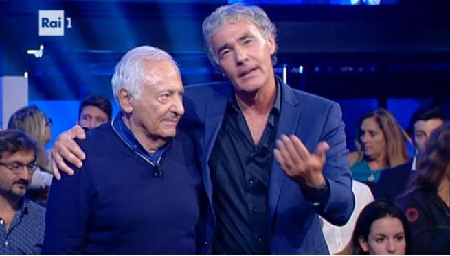 Massimo Giletti e Mogol