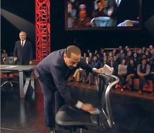 """Santoro: """"Celentano dopo lo show mi chiamò e disse 'Berlusconi non può governare'"""""""