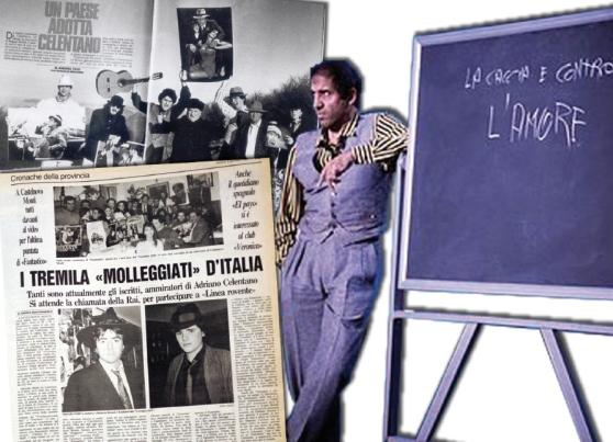 Quel 1987, quando sull'Appennino reggiano nacque il Club di Adriano Celentano