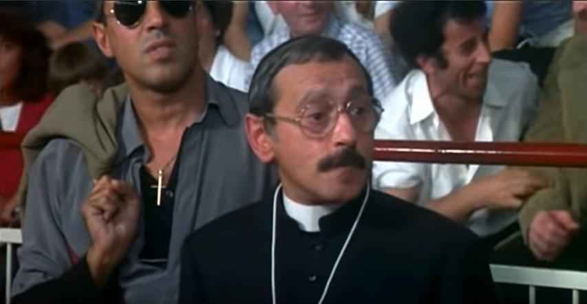 Celentano e Pippo Santonastaso sul set de Il bisbetico domato