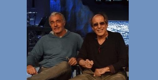 Adriano Celentano e Massimo Giletti