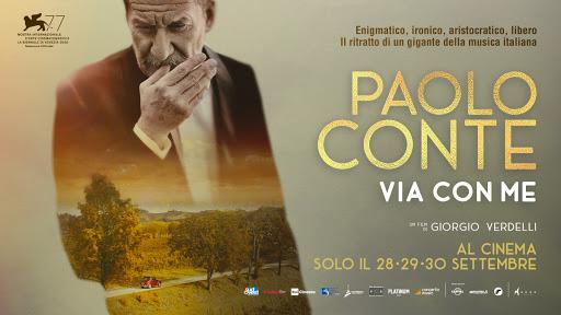 locandina Paolo Conte, Via con me