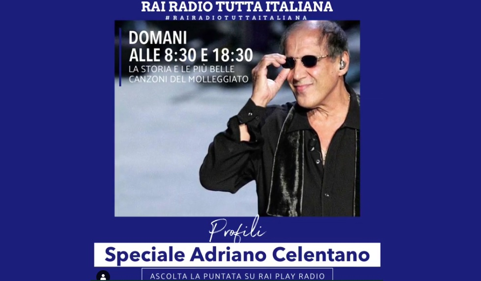 speciale Celentano rai radio